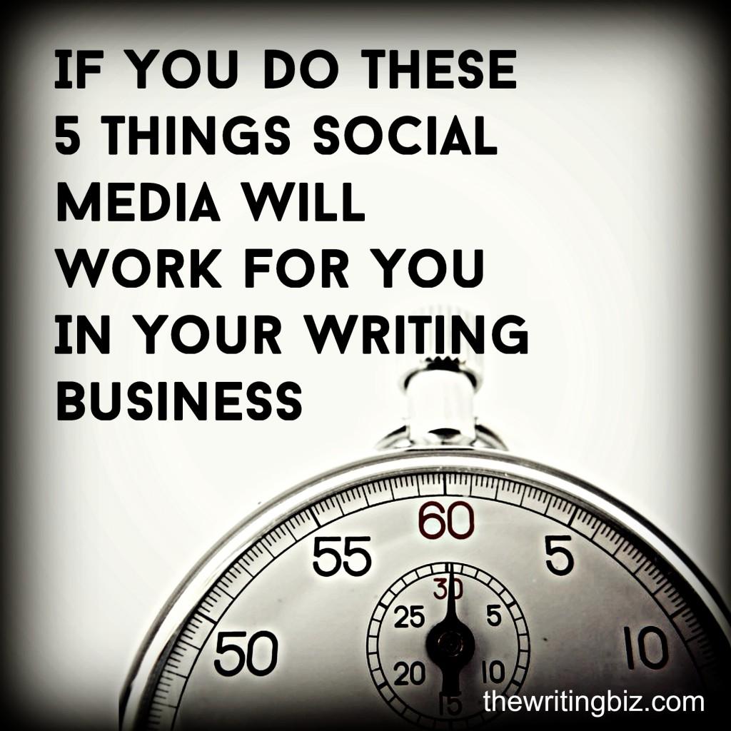 Social Media 5 things
