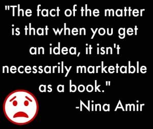 Idea not marketable